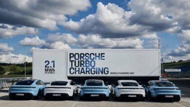 Pojízdnou nabíjecí stanici pro EV nově nabízí i Porsche