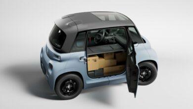 Citroën Ami Cargo: Minielektromobil ideální pro rozvoz