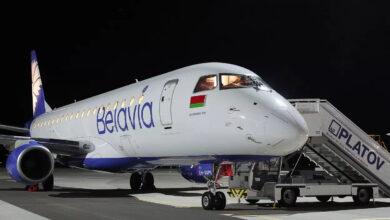 Aerolinka Belavia nesmí létat přes Evropu, čelí velkým finančním problémům