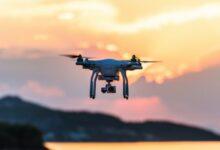 Požáry ve výškových budovách budou v budoucnu pomáhat hasit drony